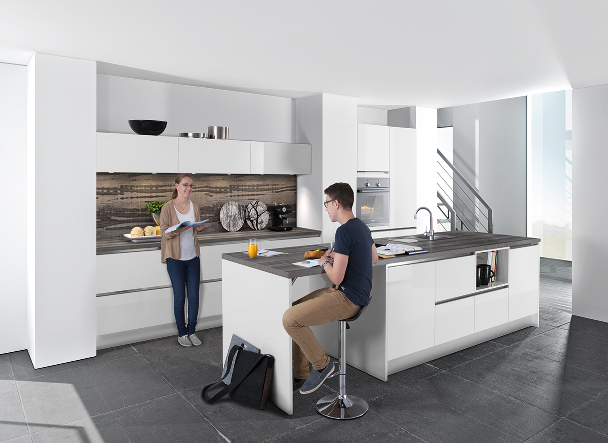 family kitchen pfeiffer k chen von der pfeiffer gmbh. Black Bedroom Furniture Sets. Home Design Ideas
