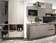 German Kitchen for commercial property in Europe.